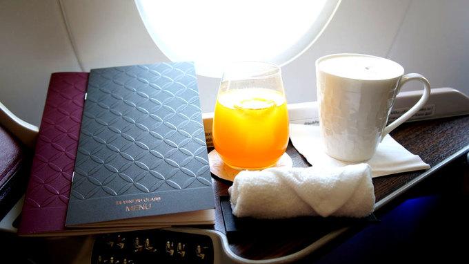 Sự khác biệt giữa ghế thương gia và phổ thông trên máy bay