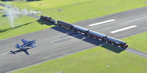 May mắn, cho tới nay chưa từng có sự cố đáng tiếc nào xảy ra tại sân bay Girborne. Ảnh: Hello Travel.