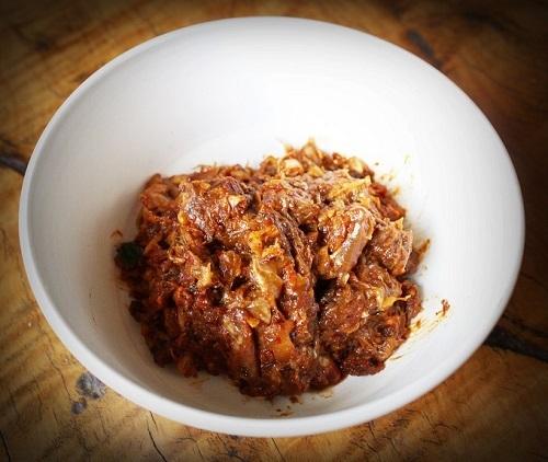 Khao Pad Nam Prik Narok, món ăn có tên gọi được dịch ra là