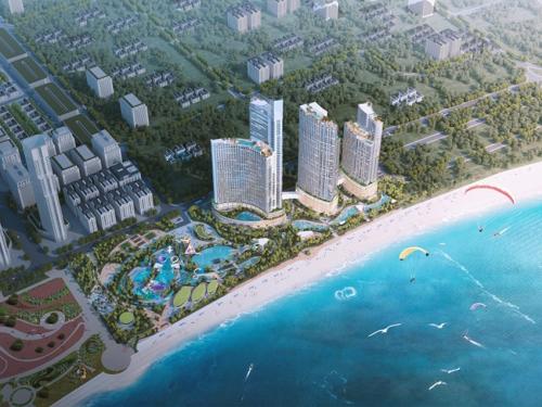 SunBay Park Hotel & Resort Phan Rang - một trong những tổ hợp giải trí nghỉ dưỡng biển đẳng cấp 5 sao đặt tại trung tâm Phan Rang - Tháp Chàm. Ảnh: Crystal Bay.
