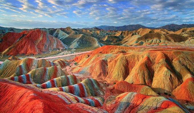 Phong cảnh thiên nhiên đẹp như tranh ở Trung Quốc