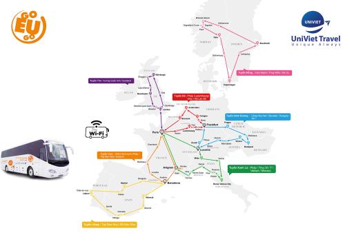 Du lịch châu Âu chỉ từ 78 euro mỗi ngày - ảnh 3