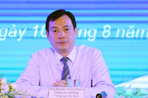 Ông Nguyễn Trùng Khánh - Tổng cục trưởng Tổng cục Du lịch tại hội nghị. Ảnh: Nguyễn Đông.