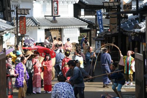 Công viên chủ đề Edo Wonderland. Ảnh: Nikko City Tourism Association.