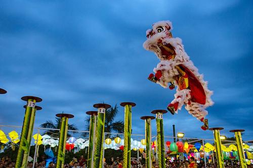 30 đội lân sư rồng nhiều quốc gia tranh tài tại Đà Nẵng