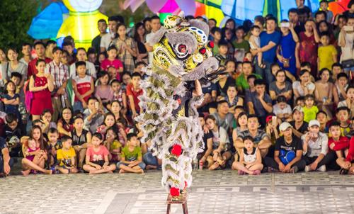 30 đội lân sư rồng nhiều quốc gia tranh tài tại Đà Nẵng - ảnh 3