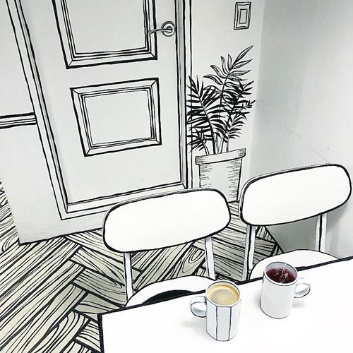 Quán cà phê như bước ra từ truyện tranh - ảnh 6