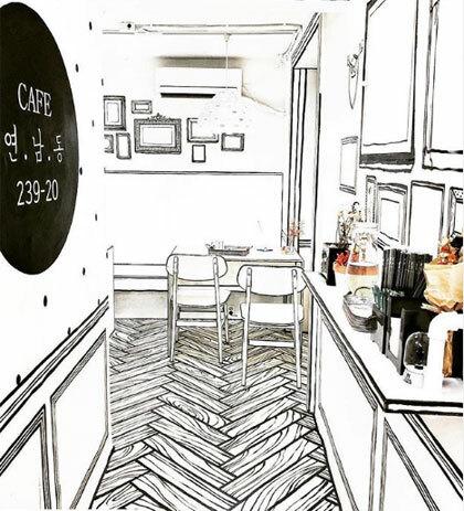 Quán cà phê như bước ra từ truyện tranh - ảnh 8