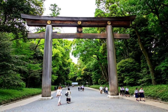 Những ngôi đền thần đạo nổi tiếng ở Nhật Bản