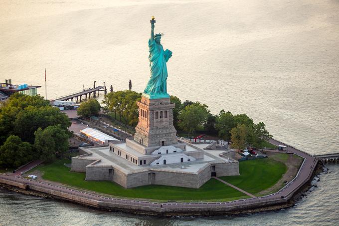 Tượng Nữ Thần Tự Do - du lịch Mỹ