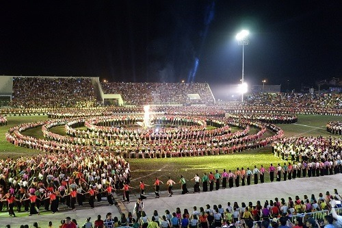 Hàng chục nghìn người dự lễ hội Mường Lò - ảnh 3