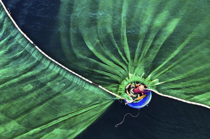 Ảnh ngư dân ở Hòn Yến đạt giải nhất cuộc thi quốc tế