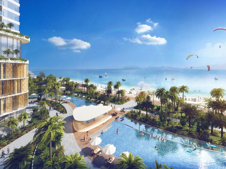 Ninh Thuận hiện thu hút nhiều dự án nghỉ dưỡng cao cấp.