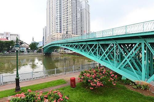 Cầu Mống, Sài GònẢnh: Kiều Dương.