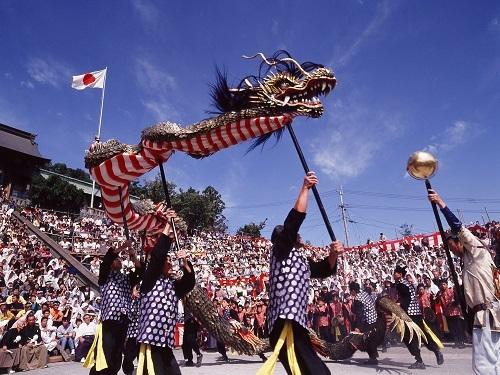 Các điệu múa được trình diễn ở lễ hội. Ảnh: Travel At Nagasaki.