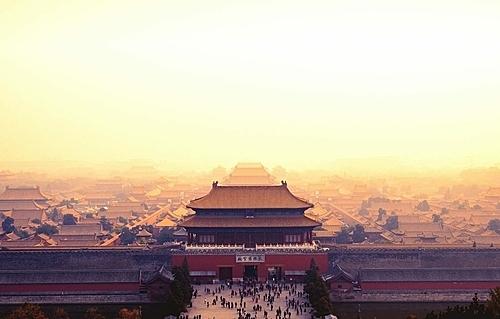 Tử Cấm Thành - quần thể cung điện bằng gỗ lớn nhất thế giới. Ảnh: IFLY
