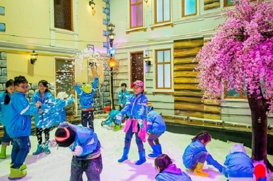 Thị trấn Tuyết ở TP HCM thay đổi diện mạo mới - ảnh 6