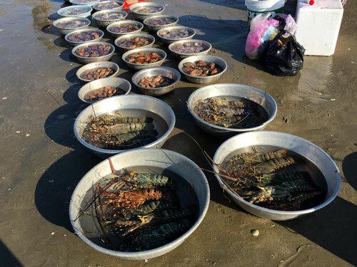 Chợ hải sản tính tiền bằng thau - ảnh 3