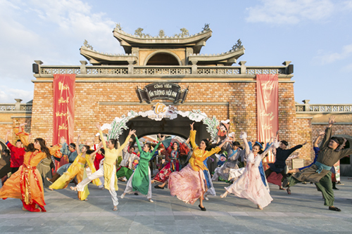 Công viên Ấn tượng Hội An nằm trên Cồn Hến, Quảng Nam,