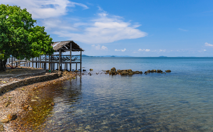 Vẻ đẹp hoang sơ trên quần đảo Hải Tặc