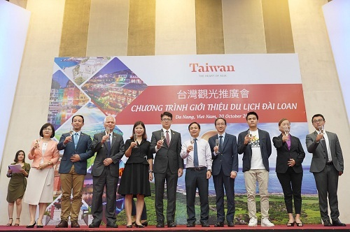 Cục Du lịch Đài Loan quảng bá hình ảnh địa phương - ảnh 1