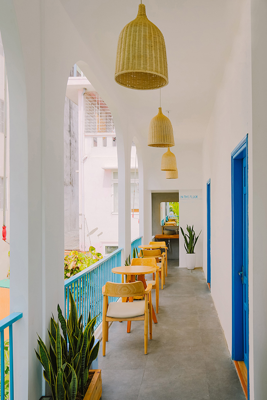 Khách sạn mang phong cách Santorini ở Huế