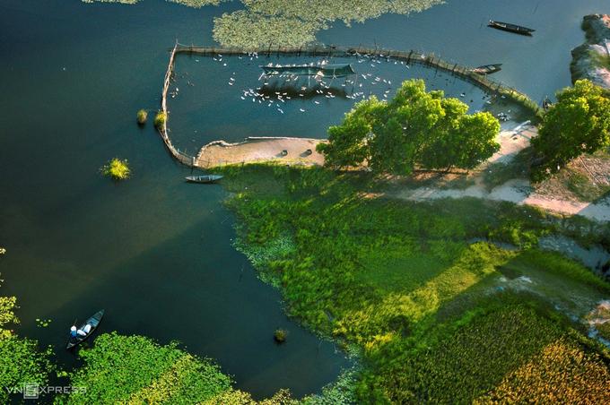 Vẻ đẹp vùng bãi Sậy, sông Đầm