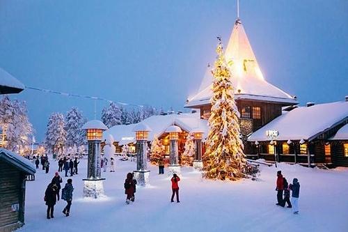 Lapland là một trong những điểm không thể bỏ lỡ nếu bạn muốn tận hưởng không khí Giáng sinh ở châu Âu. Ảnh: Nottingham Post.