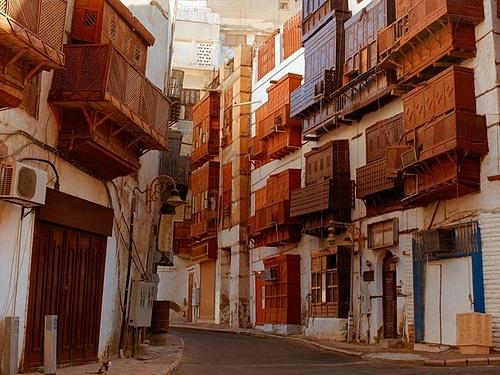 Thành phố cổ Jeddah. Ảnh: Ramadan Al Sherbini/gulf news.