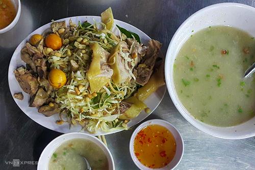Tiệm cháo ngon ở Sài Gòn