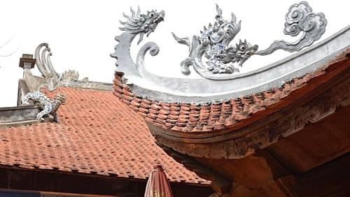 Mái chùa Tư Khánh. Ảnh:Ronan OConnell/CNN.
