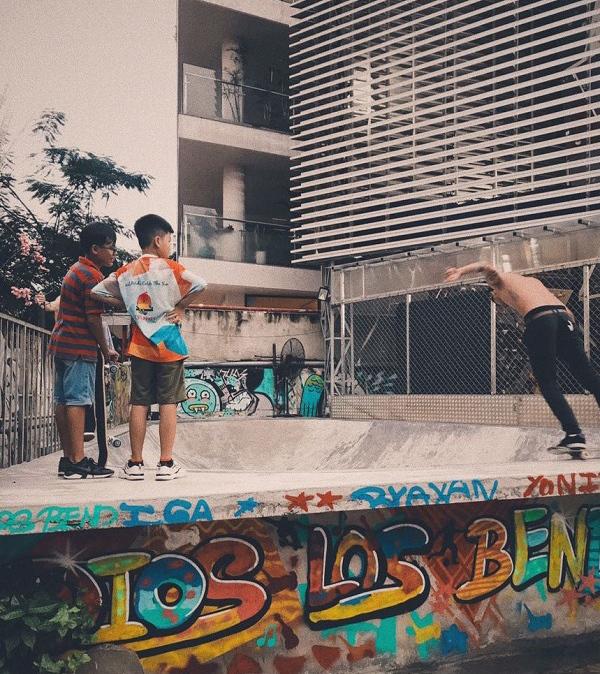 Saigon Outcast là nơi bạn tự do bộc lộ cái tôi và khả năng sáng tạo của mỗi người.