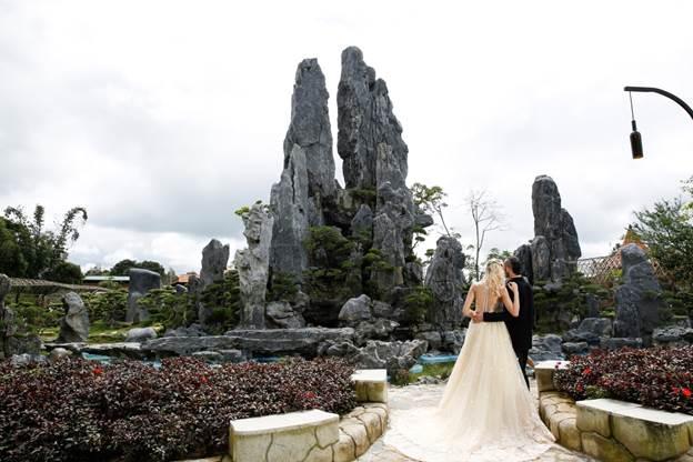 Tea Resort toạ lạc tại số 27 Cao Thắng, đường Lộc Nga, thành phố Bảo Lộc.