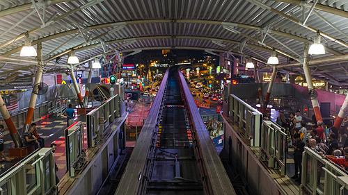 Ga àu Bukit Bintang trong thành phố. Ảnh: Christopher Crouzet/Flickr.