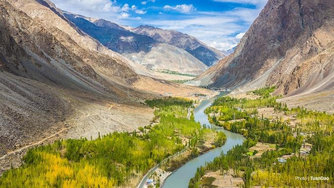 Khung cảnh ở Ladakh