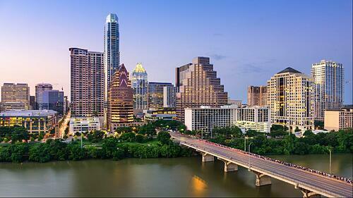 Sự đa dạng văn hóa và sự đổi mới của Austin đã thu hút sự chú ý của những người khổng lồ công nghệ như Amazon, Apple, Google và Facebook hoạt động tại đây, có thể biến đổi thành phố thành một trung tâm công nghệ cao tương tự như San Francisco và Seattle. Ảnh: Annette Alexander/Property listings.