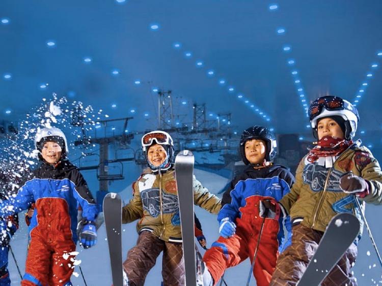 Tổ hợp giải trí tuyết - điểm nhấn cho du lịch Ninh Chữ - ảnh 1