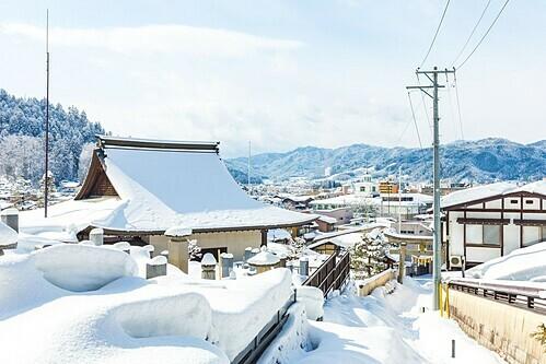 Vào mùa đông, những điểm tham quan của Nhật Bản vắng vẻ hơn. Ảnh: Natee Chalermtiragool/Alamy.