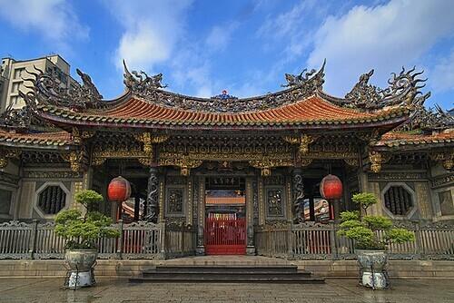 Những ngôi đền đẹp nhất Đài Bắc