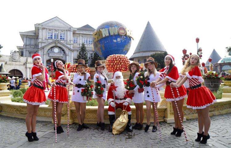 Lễ hội mùa đông phong cách châu Âu tại Bà Nà - ảnh 1