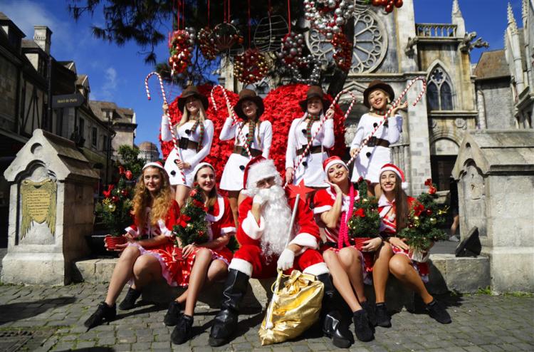 Lễ hội mùa đông phong cách châu Âu tại Bà Nà - ảnh 2