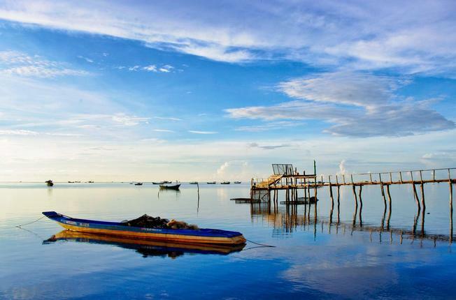 Làng chài Hàm Ninh, Phú Quốc là điểm đến được nhiều khách du lịch lựa chọn.