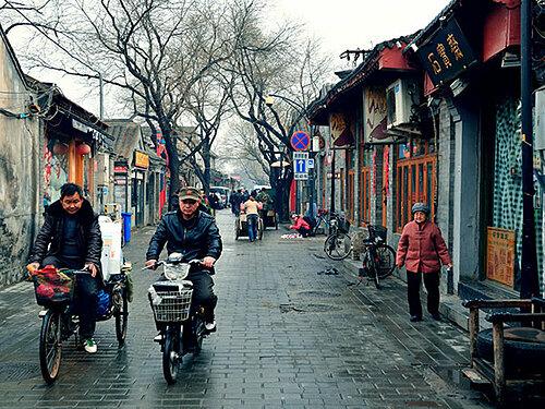 Những con phố giống như trong các bộ phim bạn thường thấy. Ảnh: China Top Travel.