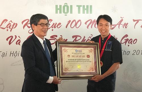 Hội thi chế biến 100 món từ gạo xác lập kỷ lục Việt Nam - ảnh 2