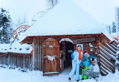 Bố mẹ Việt đưa con đi Lapland gặp ông già Noel - page 2 - 7