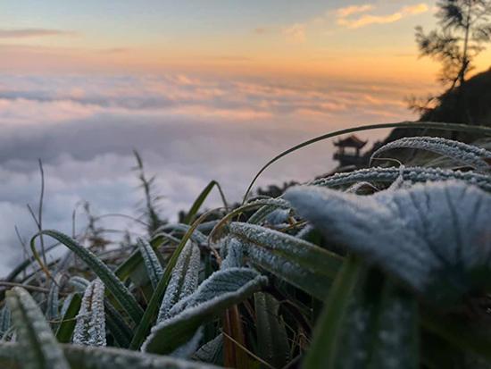 Băng tuyết phủ trắng Fansipan - ảnh 2