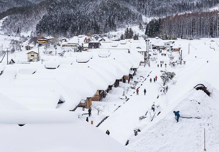 Hành trình ngắm mùa đông Nhật Bản - 1