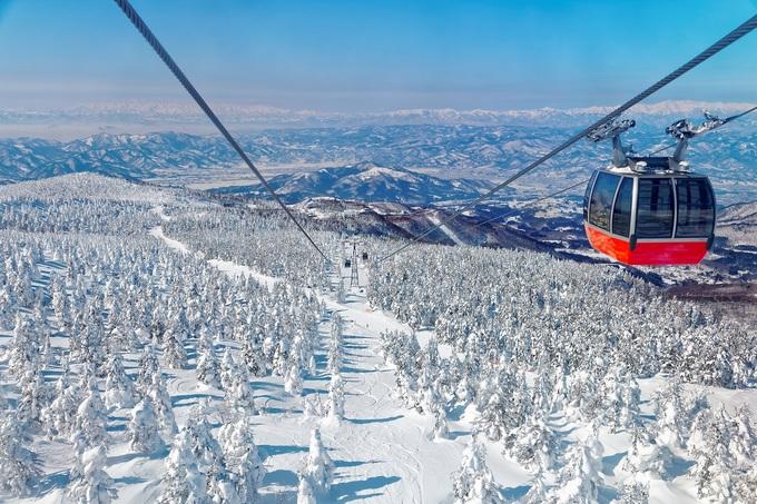 6 điểm ngắm tuyết trắng đẹp như cổ tích ở châu Á