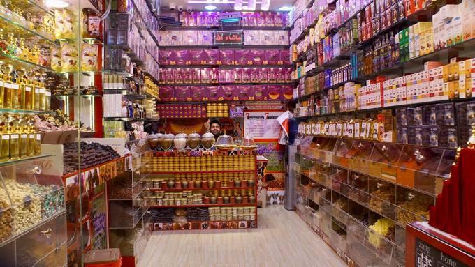 Khu chợ bày bán hàng tấn vàng ở Dubai