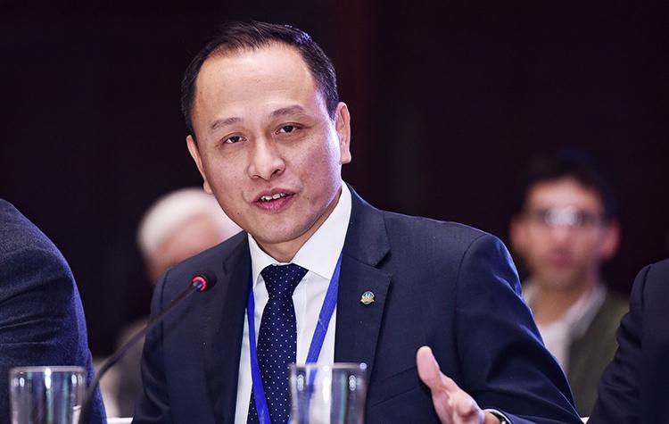 Ông Lê Hồng Hà, Phó Tổng giám đốcVietnam Airlines. Ảnh: Giang Huy.